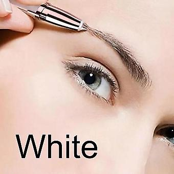 Portable And Painless Eye Brow Epilator For Women - Razor Makeup Mini Shaver Facial Hair Remover