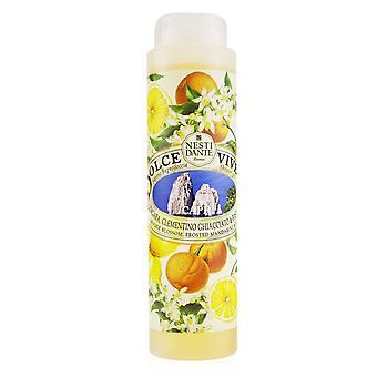 Dolce vivere chuveiro gel capri flor de laranjeira, mandarim gelado e manjericão 251257 300ml/10.2oz