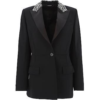 Givenchy Bw30b9g0l3001 Damen's Schwarz Baumwolle Blazer
