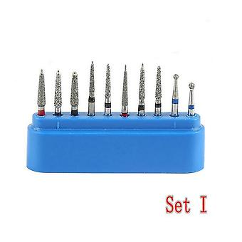 Dental Diamond Burs For Teeth - Ceramics Composite Polishing