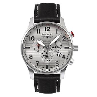 Iron Annie 5684-4 D-Aqui Grey Dial With Chronograph Wristwatch