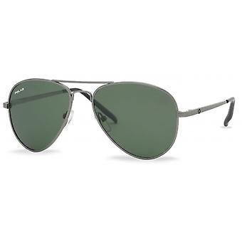 Sunglasses Unisex polarized silver grey (P66448)