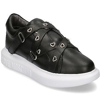 Liebe Moschino JA15484G0BJA0000 universal ganzjährig Damen Schuhe