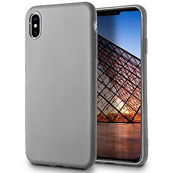 Ultra Thin Shell for iPhone XS Max Lightweight Ultra-Slim Soft Rubber Solid Grey