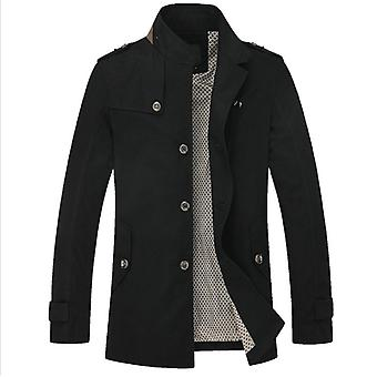 Men's Classic Stand Collar  Jacket