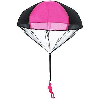 Main Jetant Mini Soldier Parachute Funny Toy Kid Outdoor Play éducatif