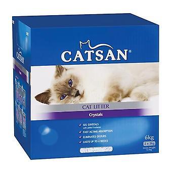 Catsan cristales 6kg