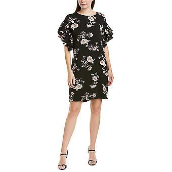 CeCe | Etched Floral Shift Dress