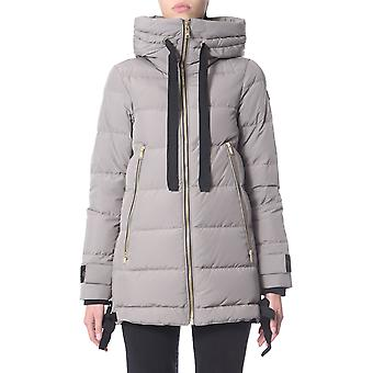 Moose Knuckles M39lj154530 Women's Grey Polyester Down Jacket
