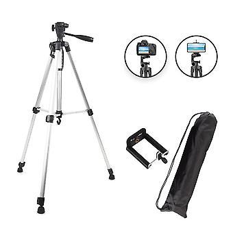 bærbar kamera stativ for telefon, canon, nikon, sony dslr kamera videokamera