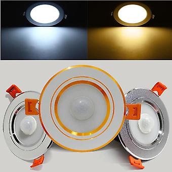 Led Downlight Pir Motion Sensor Ceiling Lamps, Smart Home Step Light Wall