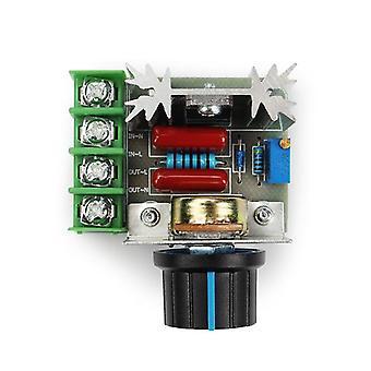 Led Dimmer Switch 220v Régulateur de tension -vitesse du moteur thermostat électronique