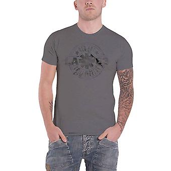 Red Hot Chili Peppers T Shirt LA 83 Band Logo new Official Mens Heather Grey