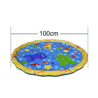 170cm Inflatable Spray Water Cushion Summer Kids Play Water Mat Pad Sprinkler,