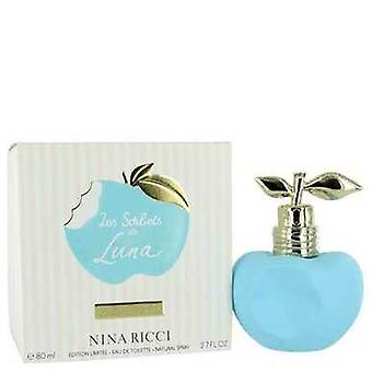 Les Sorbets De Luna By Nina Ricci Eau De Toilette Spray 2.7 Oz (women) V728-552074