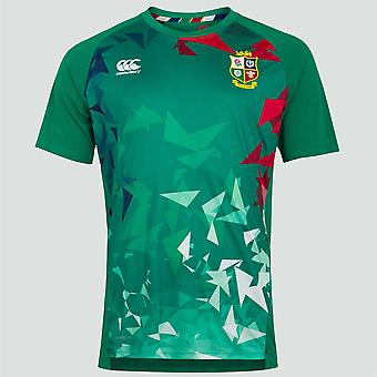 Canterbury British & Irish Lions Rugby Super Light Graphic Tee Hombres Verde Bósforo 2021
