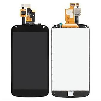 LCD Display + Touch Panel  for Google Nexus 4 / E960(Black)