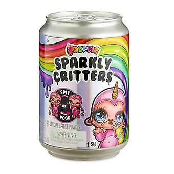 Slim-sparkly Critters Rainbow Bright Star Unicorn Squishy