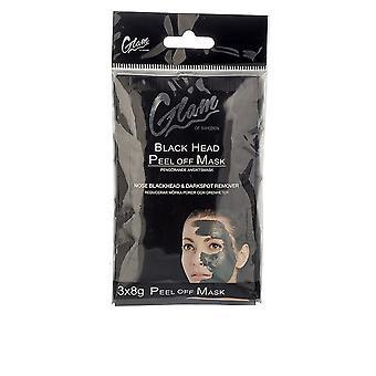 Glam of Sweden Mask Black Head Peel Off 3 x 8 gr för kvinnor