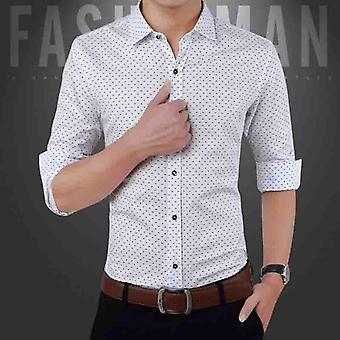 Miesten ja apos;s Casual shirt, Slim Fit, Button Down, Pitkähihaiset, Muodollinen Mekko paidat