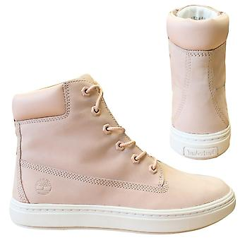 Timberland Londyn Chukka Lace Up Trainers Pink Leather Womens Boots A1PBD X31A