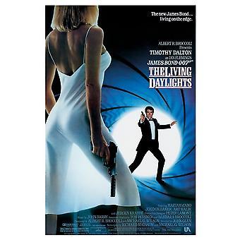 James Bond The Living Daylights Vykort
