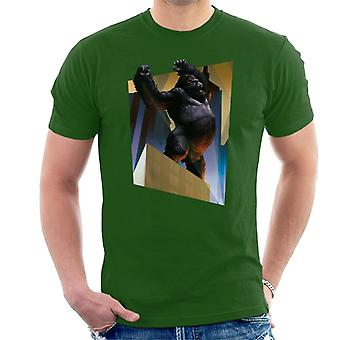 King Kong City Lights Roaring Rage Men's T-Shirt