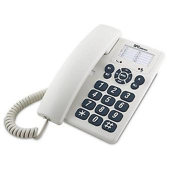 Markkabeltelefon SPC 3602 Vit