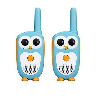 2pcs Cartoon Owl Design's Radio 0.5w Xmas Walkie-talkies