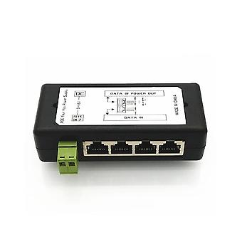 4-port Poe Injector & 4-ch Poe Power Adapter, Ethernet Power Supply Pin For Ip