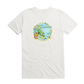 Care Bears Geluk op mijn kant Stempel T-shirt