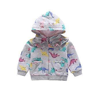 Boy / Animal Print Sweatshirt - Gestreepte Hoodies Kleding Casual Sport Bovenkleding