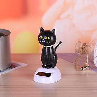 Cute Solar Powered Dancing Cats, Swinging Bobble Toy, Car, Decoration Novelty,