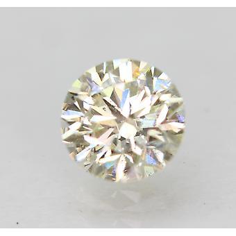 Sertifioitu 0,35 karat J VVS2 pyöreä loistava parannettu luonnollinen löysä timantti 4.44m