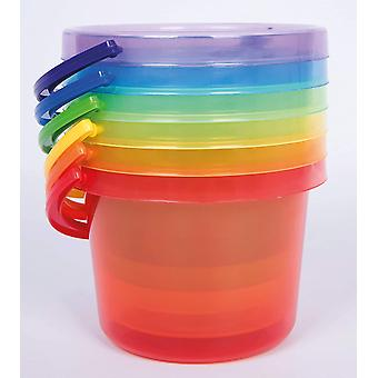 TickiT 73101 Bucket Set, 162 mm, Translucent