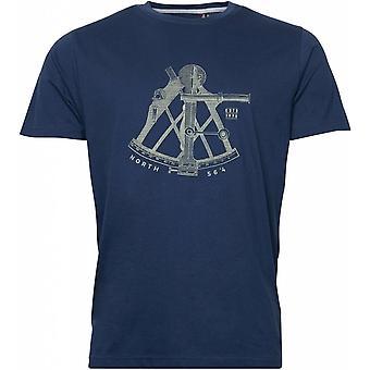 North 56°4 Nautical Instrument Printed T-Shirt