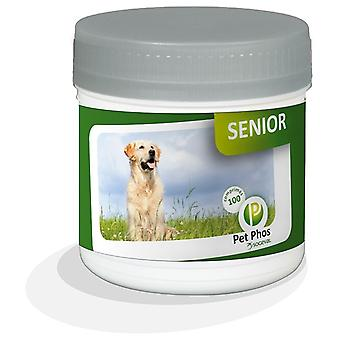 Pet-phos Canin Senior Dogs Vitamin For 100 Tablets (Dogs , Supplements)