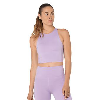 Womens Summer in the City Pastel Lilac Bra Top
