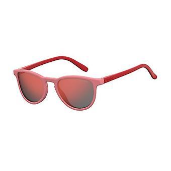 Polaroid PLD8029/S C48/OZ Vaaleanpunainen Punainen/Polarisoitu Punainen Peili Aurinkolasit