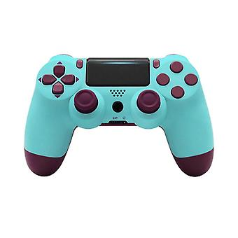 Bluetooth Wireless Gamepad Controller For PS4 Playstation 4 Console Joystick Controller(blue)