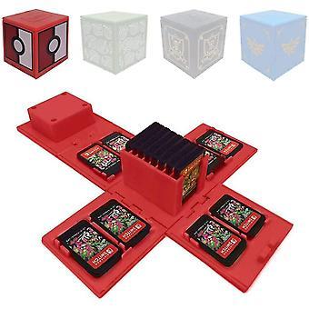 FengChun Spielkartenhalter für NS - Nintendo Switch-Speicherkartenetui, Videospielkartenhalter mit