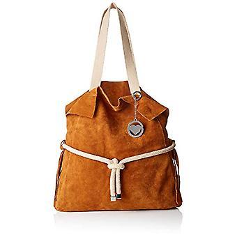 Bag Bags Cbc3334tar, Women's Shoulder Bag, Brown (Leather), 8x35x40 cm (W x H x L)