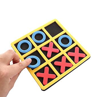 Parent-child interaction leisure board game x and o's