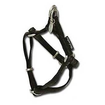 Nayeco MacLeather svart hund sele L (hundar, kragar, Leads och selar, seldon)
