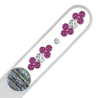 Kristall Nagelfeile GR-M - Fuchsia - Crystal