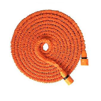 25Ft orange 3 times retractable garden high pressure water pipe for watering cleaning az8101