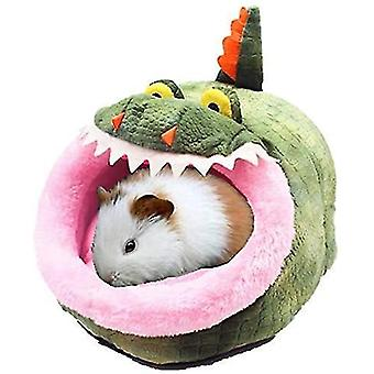 Crocodile chinchilla hedgehog guinea bed accessories cage toys small pet house dt7042