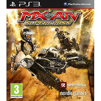 MX vs ATV Supercross PS3 Game