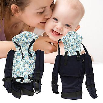 New Warm Cotton Front & Back Baby Carrier Comfort Backpack Sling Wrap