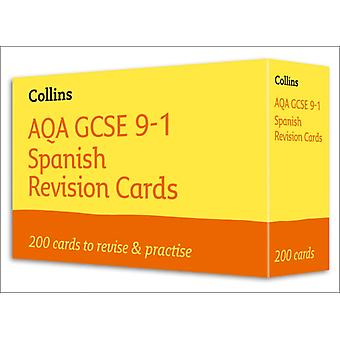 AQA GCSE 91 Spanish Vocabulary Revision Cards by Collins GCSE